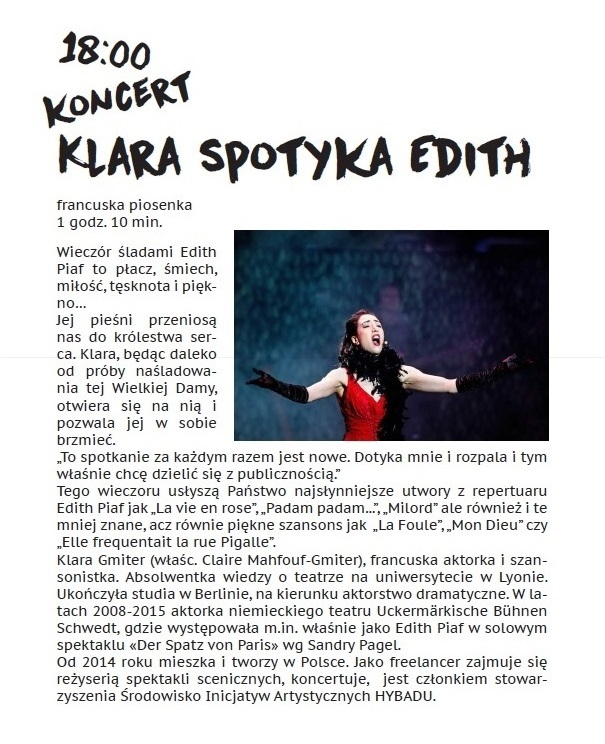 3. sobota Klara