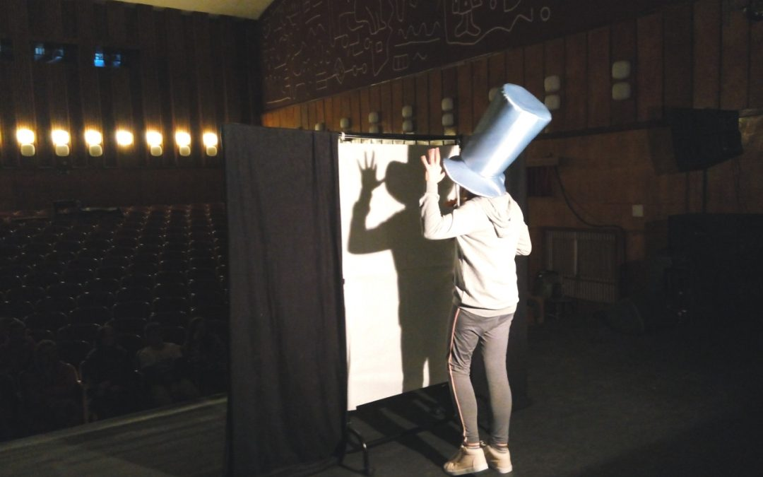 Warsztaty teatru cieni w Kolnie