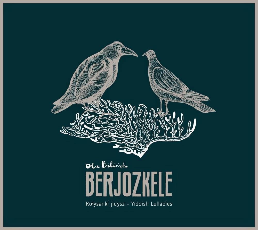 rysunek dwa ptaki na gałązce, okładka płyty