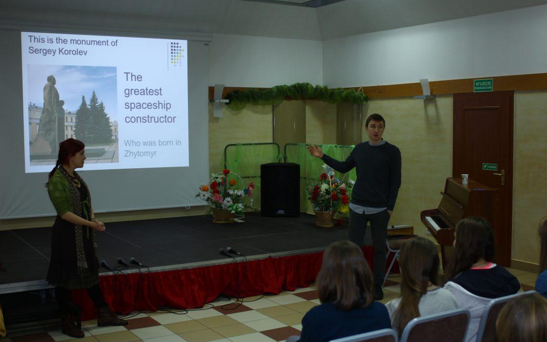 EVS: prezentacja kultury ukraińskiej